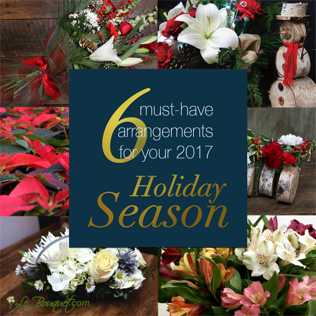6 must have arrangements for the holiday season
