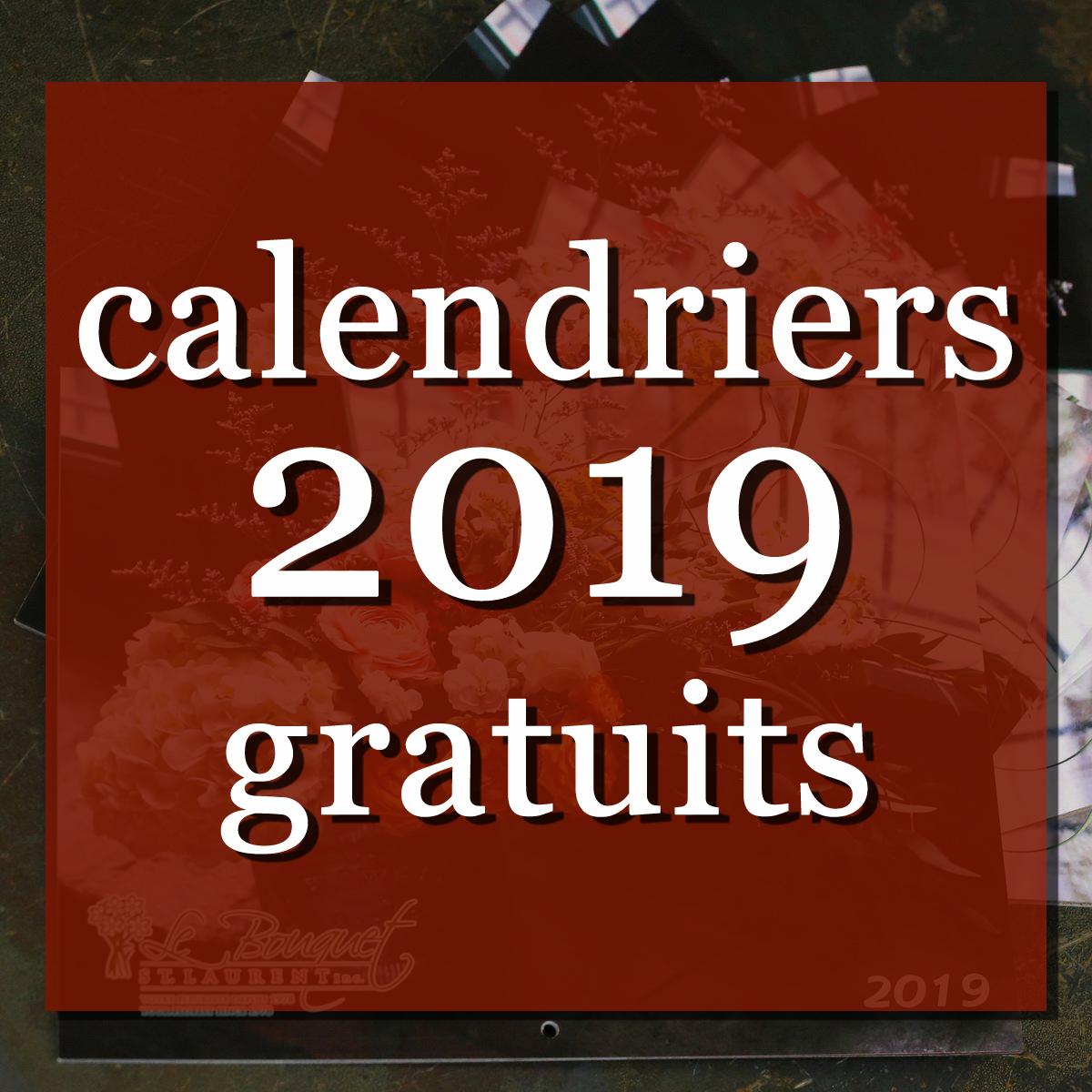 Calendriers 2019 Gratuits