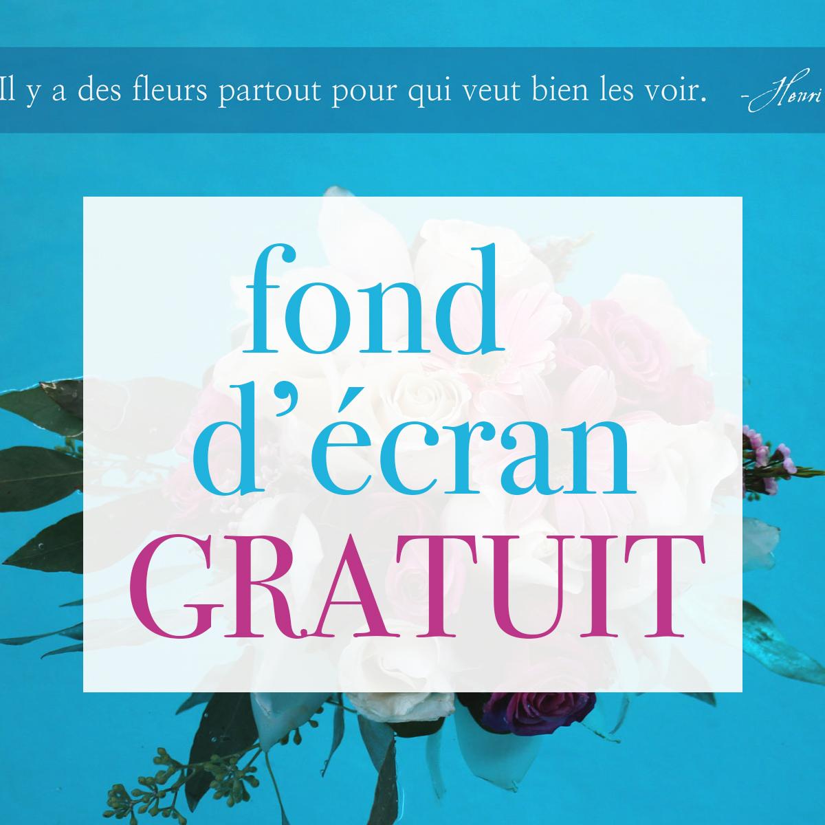 Fond d 39 cran gratuit fleuriste le bouquet st laurent for Fond d ecran gratuit wiko