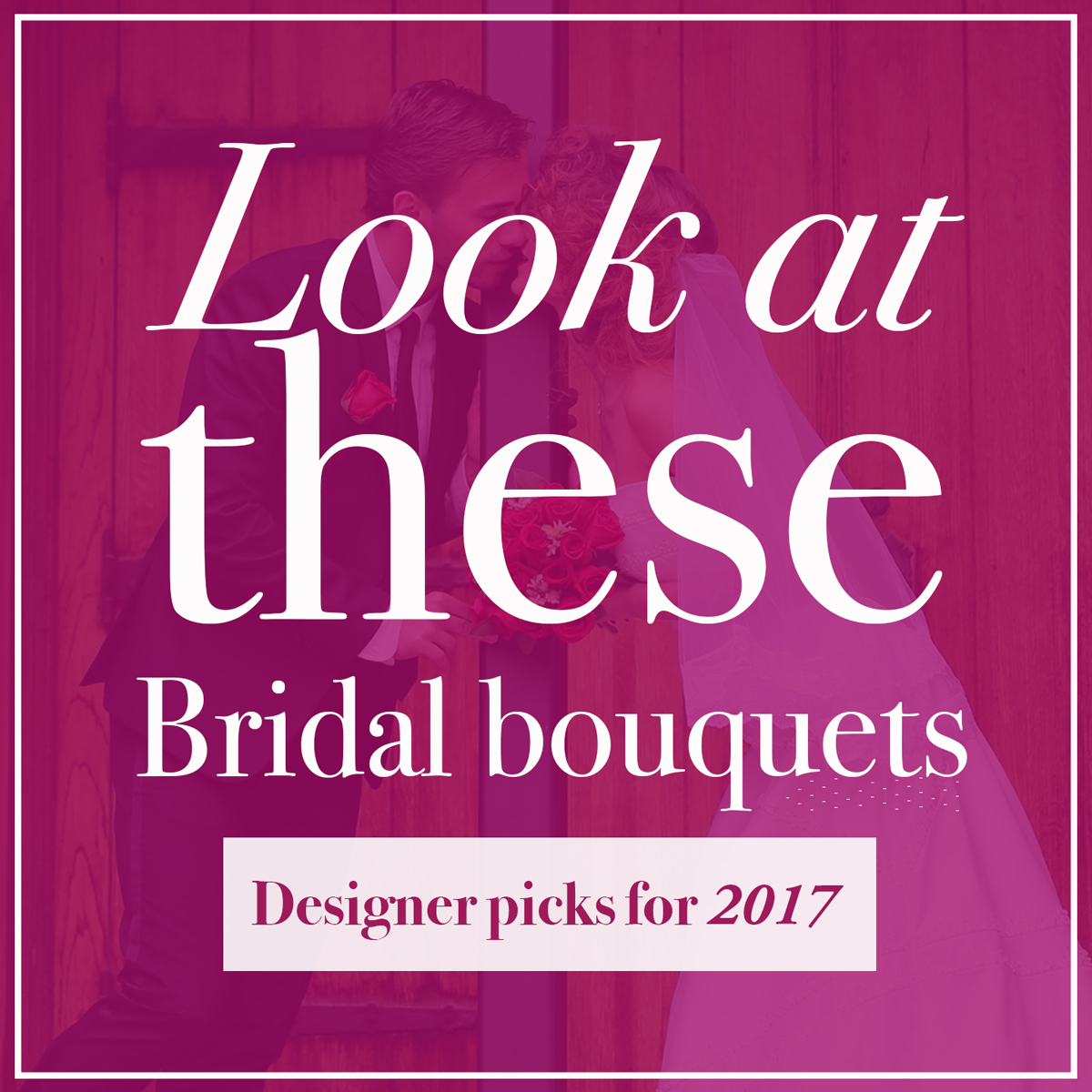 Le Bouquet designer's choice bridal bouquets for 2017