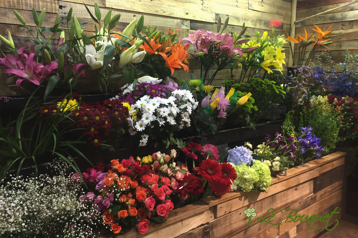 selecting flowers for your bouquet
