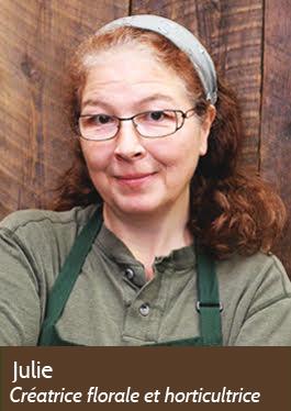 Julie - Créatrice florale et horticultrice