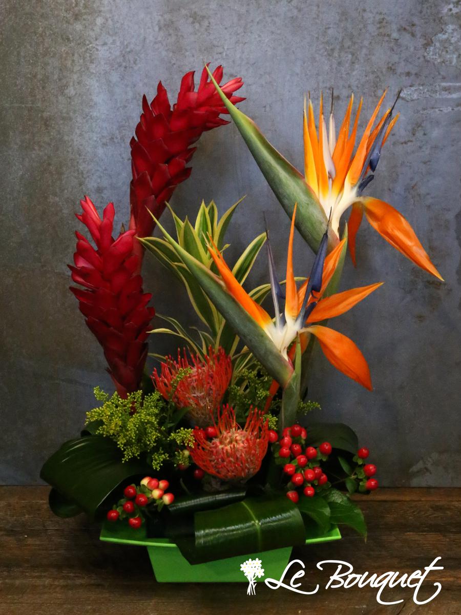 Exotica Arrangement Le Bouquet St Laurent Florist
