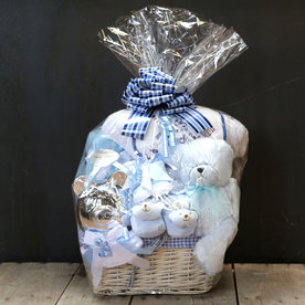 BG1009 Baby Basket by Le Bouquet