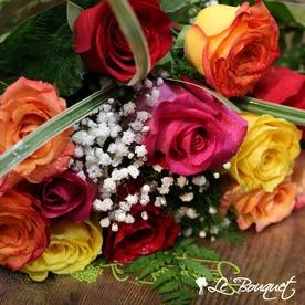 more colors short stem roses