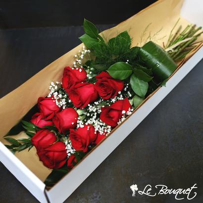 Le Bouquet Montreal, long stem roses