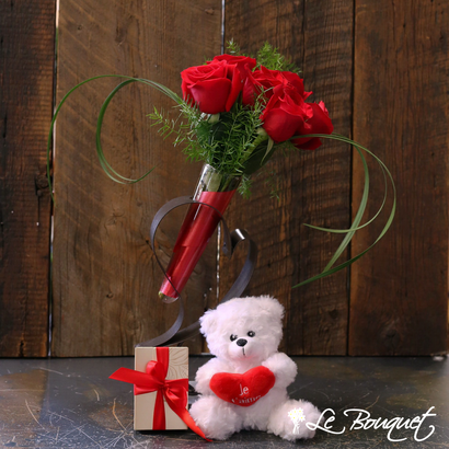 All for Love gift set by your trusted Montreal Florist