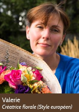 Valérie - Créatrice florale (style européen) - Fleuriste LeBouquet